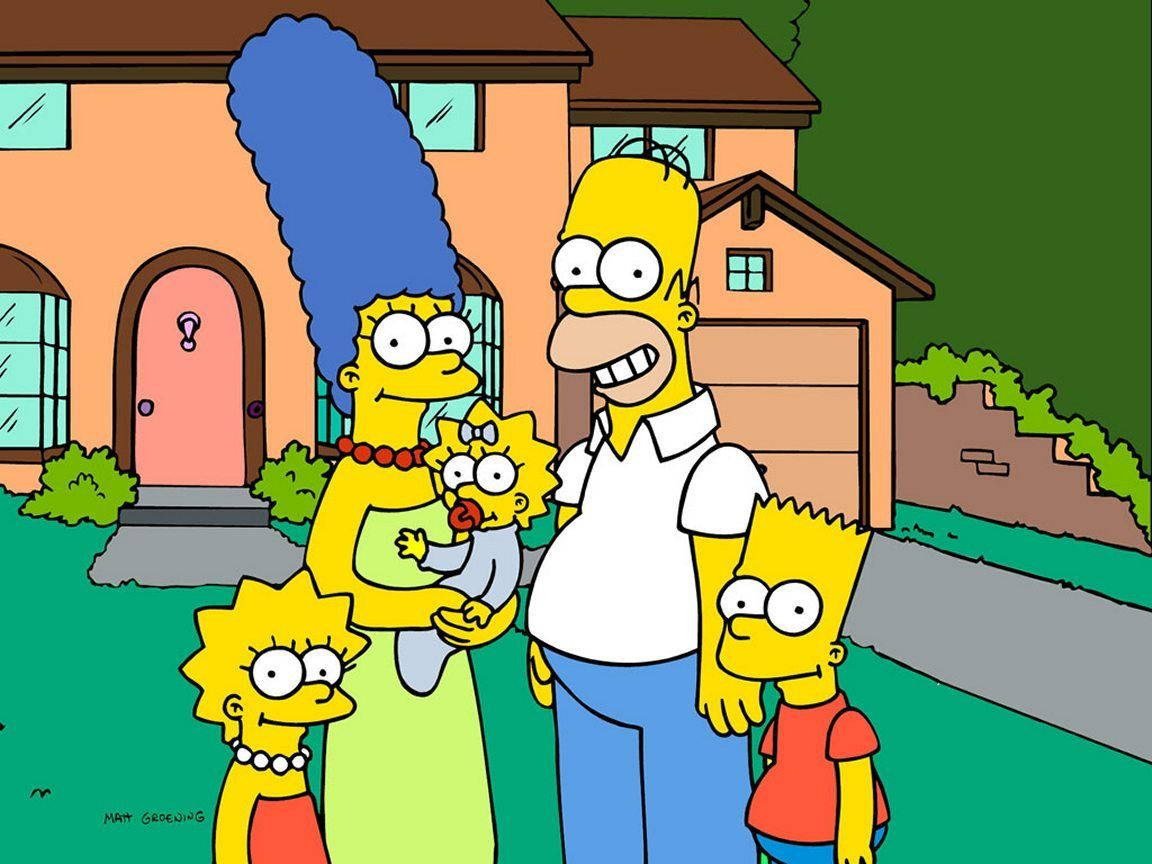 Les Simpsons : photo de famille